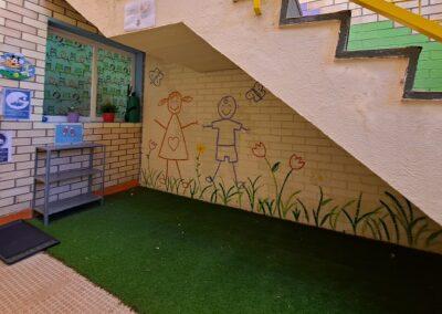 espacio carritos escuela infantil