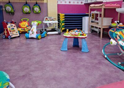 educacion infantil aula de bebes en tres cantos