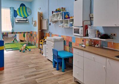 aula polivalente guarderia infantil
