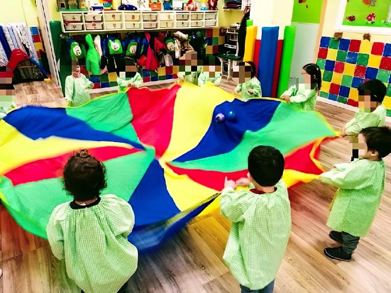 colores educacion infantil tres cantos