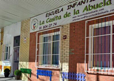 entrada centro de educacion infantil tres cantos