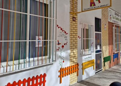 fachada escuela infantil privada en tres cantos