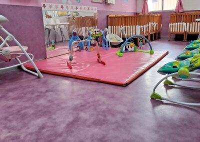 aula de bebes escuela preescolar