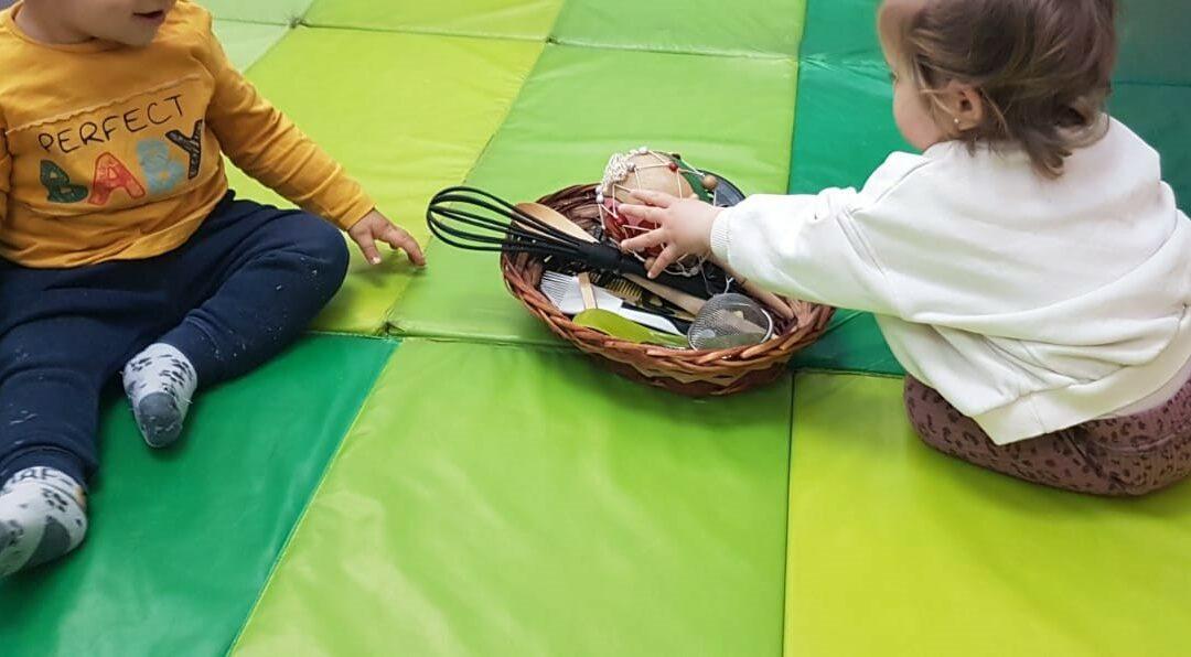 estimulacion sensorial en escuela infantil la casita de la abuela